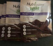 Nutrisystem Turbo Shake Mix, Chocolate Fudge 1.3 Oz, 5 Packets Exp 09/24/2020