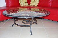 Tavolo Pranzo Tavolino Salotto FERRO BATTUTO  Realizzazioni Personalizzate . 642