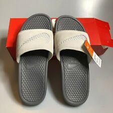 Nike Benassi JDI SE Women's Leather Slide Sandals 11