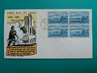 1958 Detroit Michigan Cadillac Landing Fluegel Cachet First Day Cover USPS Mail