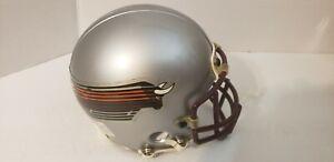USFL Jacksonville Bulls football Custom Mini Helmet with Metal Face Mask
