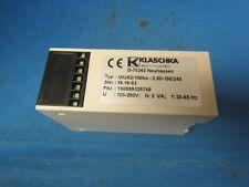 KLASCHKA WUS2/100BA-2.60-190/245 TIMER RELAY DELAY SWITCH
