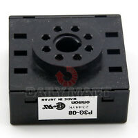 NEW Omron P3G-08 8-Pin Socket Timer Relay