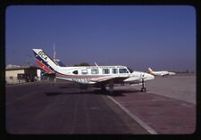 Golden Carriage Aire Piper PA-31 N27768 Kodachrome Aircraft Slide/Dia