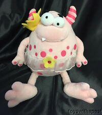 "Koala Baby MONSTER Ballerina Pink 12"" Plush Tutu Princess Alien Creature Stuffed"