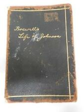 1923 (James) BOSWELL'S LIFE OF (Samuel) JOHNSON  Abridged, Leather, Illustrated