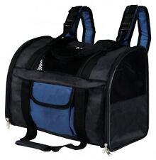 Trixie 2882 Tbag Transporttasche, 44×30×21 cm, schwarz/blau