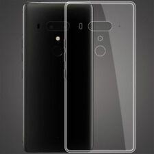 Für HTC U12 Plus Silikoncase Transparent Ultra dünn Case Tasche Hülle Cover Neu