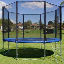Trampolin Set 305 cm 180 kg Kinder Gartentrampolin Komplettset Netz Leiter Plane