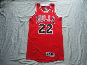 Taj Gibson Chicago Bulls 2011-2012 AUTOGRAPHED AUTHENTIC Pro Cut Adidas Jersey