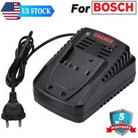 For Bosch BC660 14.4V -18V Lithium Ion Battery Charger AL1820CV BAT607 BAT609 3A