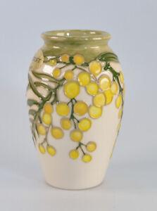 "Moorcroft Wattle Vase 1st quality c.1988 4"" high"