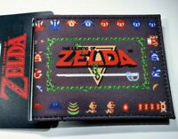 The Legend of Zelda NES Nintendo Video Games Wallet / SNES N64 Switch Wii NEW ⚔️