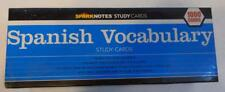 SPARKNOTES 1000 SPANISH VOCABULARY STUDY CARDS