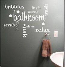 Pegatinas y plantillas de pared de palabras y frases para el hogar