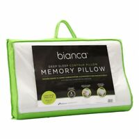Bianca Deep Sleep Memory Foam Dual Contour Profile & Medium Feel Pillow