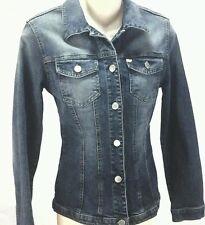 MISS SIXTY BRINK Womens Blue Denim JACKET Jean Size Medium Made in Italy