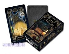 NEW LISA PARKER TAROT DECK - GOTHIC FANTASY TAROT FAMILIAR - BRAND NEW DECK