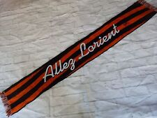Echarpe scarf FC LORIENT fcl club supp signed signé JIMMY CABOT ultras foot