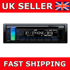 JVC KD-DB98BT CD Bluetooth Auto Stereo DAB radio USB iPhone PLAYER CON ANTENNA