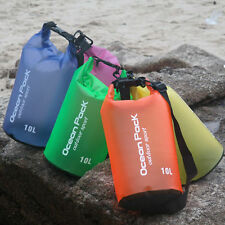 2-10L Waterproof Dry Bag Outdoor Sport Swimming Rafting Kayaking Sailing Canoe S