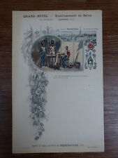 MENU RESTAURANT 1899 BENEDICTINE FECAMP Grand Hotel BECHARD CASTRES
