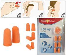 EAR PLUGS 4 Pairs Soft Earplugs Muffs Protectors GENUINE Custom Bulk Discount