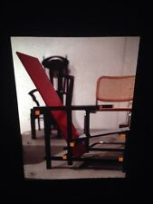 Gerrit Rietveld Chair: Art Nouveau Dutch Furniture Design 35mm Art Slide