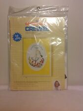 Crewel Kit Stork Birth Sampler Record Baby by Erica Wilson - Columbia Minerva