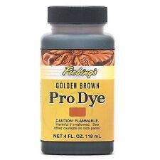 Fiebing's Pro Dye Golden Brown 4 oz (118 ml) 2110-15