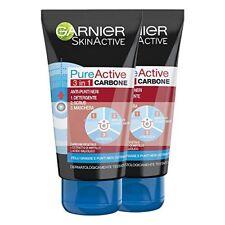 Garnier Pure Active Intense 3in1 Gel Maschera Detergente Anti-punti neri 150 ml