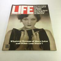 Life Magazine: February 1980 Whatever Became of Mary Astor and Other Lost Stars?