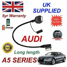 For AUDI A6 4F0051510K iPhone 3gs 4 4s & & most iPod 09+ AMI MMI audio cable LN