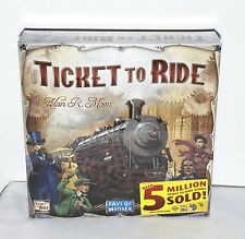 Ticket To Ride Days Of Wonder The Cross Country Train Adventure Board Game NEW