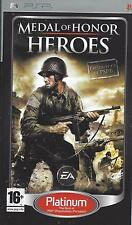 MEDAL OF HONOR HEROES for PSP - with box & manual