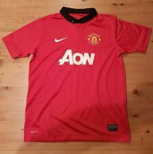 Manchester United Large Kids Home Shirt Jersey Man United Utd Van Persie 2013/14