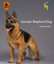 Mr.Z x Mcctoys 1/6 Mcc-001A German Shepherd Dog Rich Black And Tan