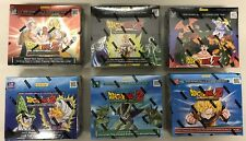 DRAGON BALL Z DBZ PANINI : ALL 6 BOOSTER SET BOXES BRAND NEW SEALED - 6 BOXES