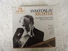SVIATOSLAV RICHTER Sensitive Eccentric Piano - 10 CD Box Set - Documents