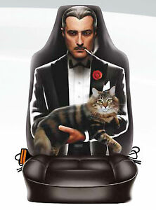 The Godfather style car seat cover Made in Italy tough microfiber FITS ALL CARS!