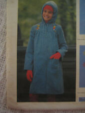 VTG Butterick 5036 Child Girl LINED COAT Sewing Pattern
