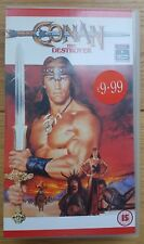 Conan The Destroyer VHS video