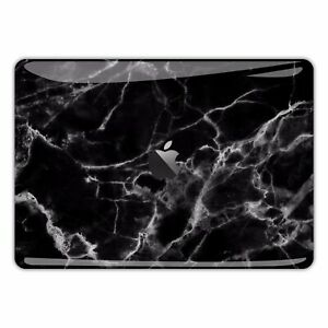 Macbook Pro Air 13 15 Skins case Sticker Decal vinyl Black Marble Pattern FSM002