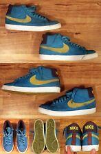 Nike Blazer Premium SB Shoes: Aquamarine Lime: Mens sz 10 rare color 314070-332