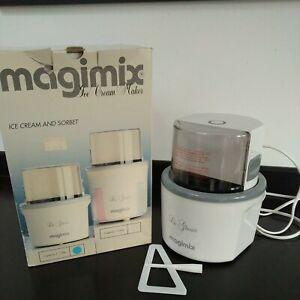 Magimix Le Glacier Ice Cream & Sorbet Maker 1.5L Delicious Ice Cream .