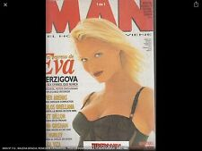 MAN,110 MALENA GRACIA, REMEDIOS CERVANTES, EVA HERZIGOVA Magazine Spanish 1996