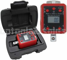 "1/2"" Dr. Digital Torque Wrench Adaptor Micro Meter Ft/Lb In/Lb Led Microtorque"