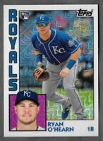 2019 Topps Series 1 Silver Pack 1984 Chrome Refractor #39 RYAN O'HEARN Royals RC