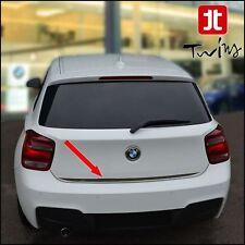 Striscia cromata portellone BMW Serie 1 F20 5p profilo baule cromato cromature
