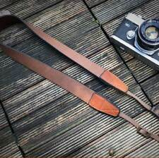 ☀CANPIS Heavy Duty Leather Camera Neck Shoulder Strap for Full Frame 6D II BRW